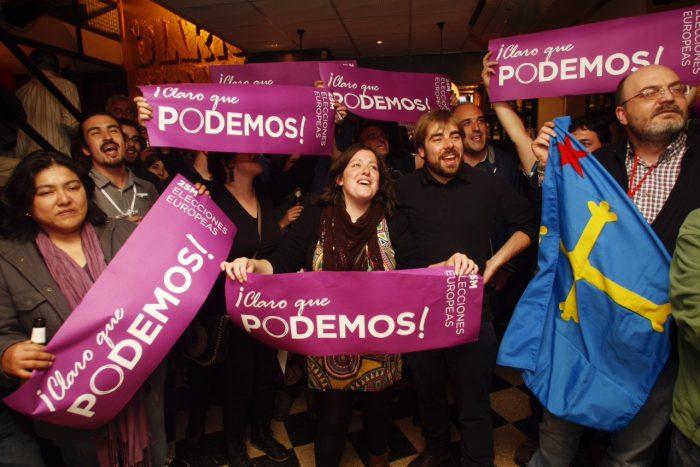 Elecciones españolas: histórico fin del bipartidismo e irrumpe Podemos como tercera fuerza