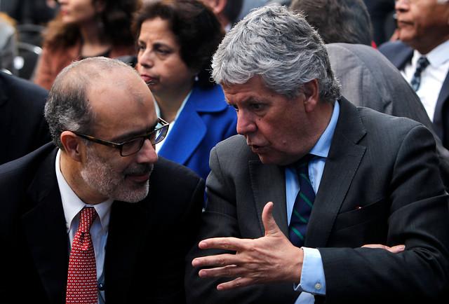 La molotov con que Eyzaguirre y Valdés incendiaron el frente Educación