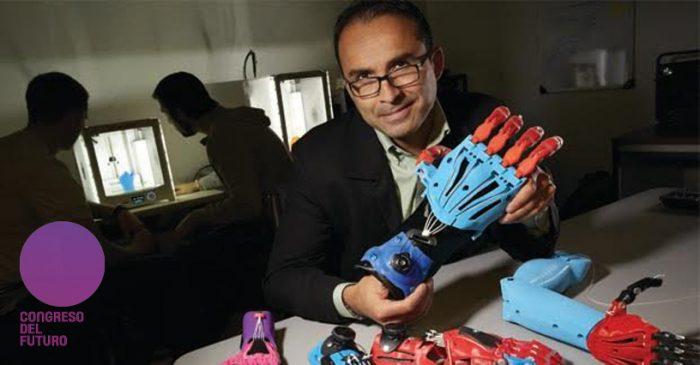 Jorge Zúñiga, el científico chileno que cambió el mundo con sus prótesis 3D