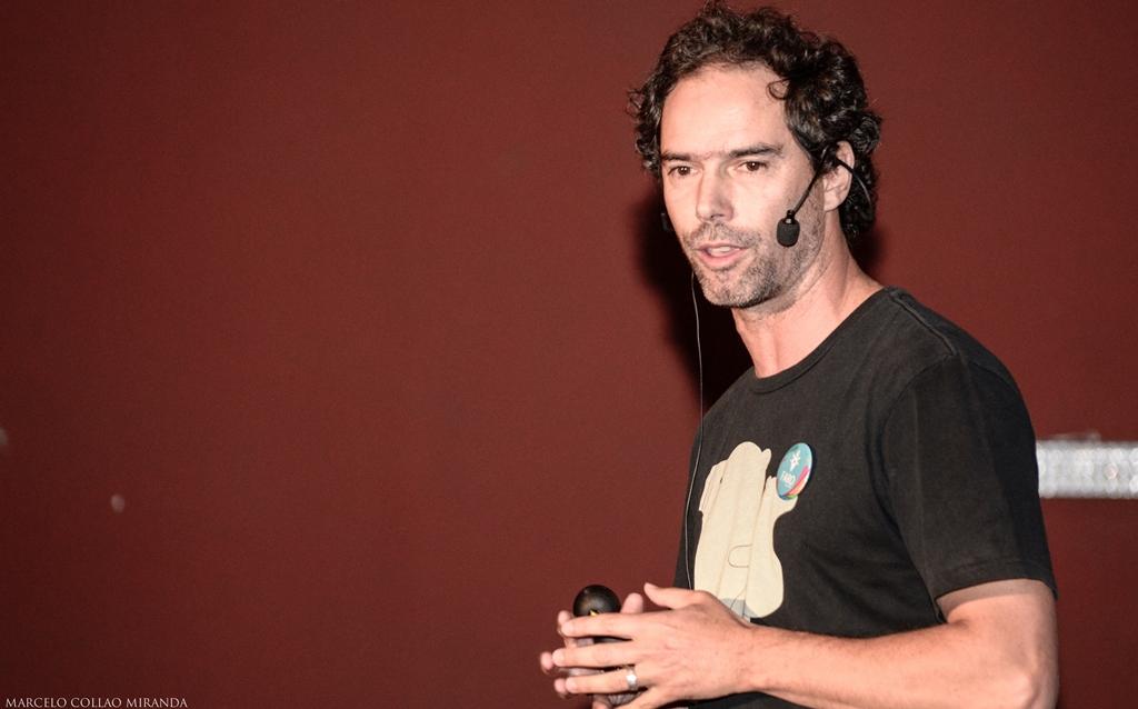 Felipe Howard, fundador de Latitud 90 y charlista del Encuentro Faro.