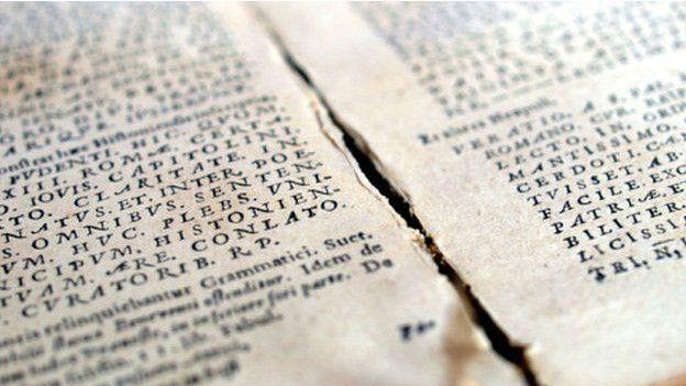 Antiguamente el latín era la lengua académica.
