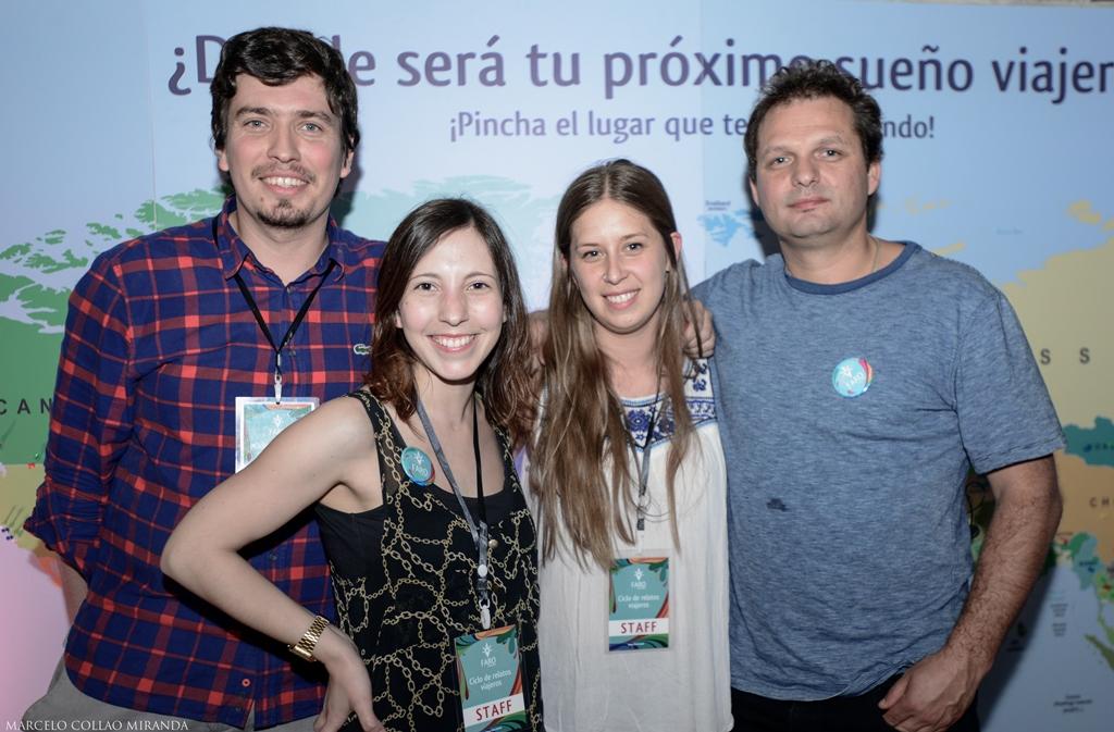Carlos Scheuch, Valeria Villalobos, Cristina Gil y Alfonso Hartard, integrantes del equipo a cargo de Faro.
