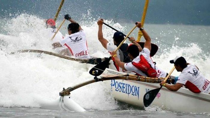 Maitencillo será sede del primer Sudamericano de Canoa Polinésica realizado en Chile