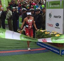 Bárbara Riveros repite y gana el Ironman de Pucón