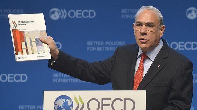 OCDE advierte una nueva ralentización mundial y pide medidas urgentes: recortó crecimiento mundial para 2016 a 3%