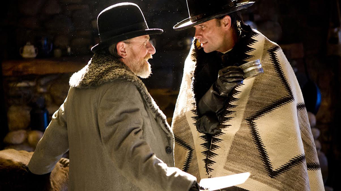 (L-R) TIM ROTH and WALTON GOGGINS star in THE HATEFUL EIGHT. Photo: Andrew Cooper, SMPSP© 2015 The Weinstein Company. All Rights Reserved.