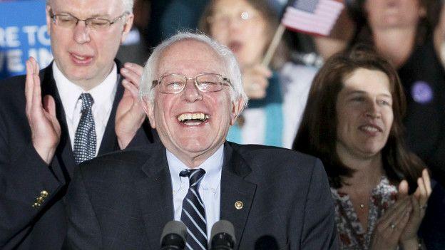 Sanders se impuso con una amplia ventaja a Hillary Clinton en New Hampshire.