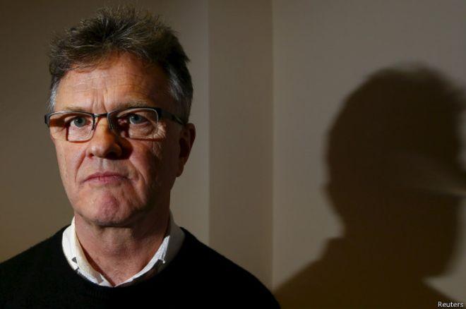 Peter Saunders fue víctima de los abusos de un cura en su juventud.