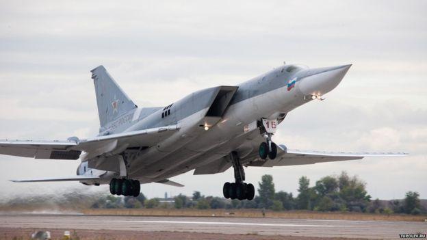 Bombarderos rusos TU22M3 fueron usados en el simulacro de ataque sobre Estocolmo.
