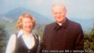 La amistad de Anna-Teresa Tymieniecka (izquierda) y Karol Wojtyla comenzó en 1973.