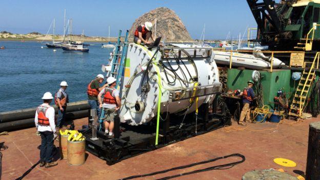 El prototipo fue introducido al mar en agosto de 2015.