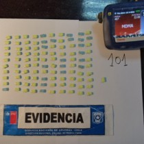 Aduanas detecta pastillas de  éxtasis con forma de