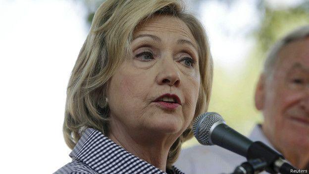 En el lado demócrata, Hillary Clinton sigue con grandes aspiraciones a obtener la nominación.