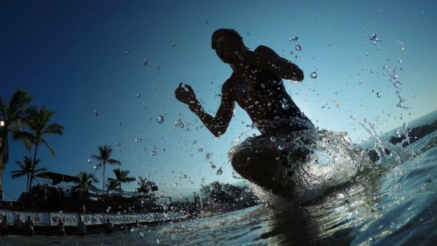 La GoPro, una de las cámaras elegidas por aquellos que disfrutan del agua.