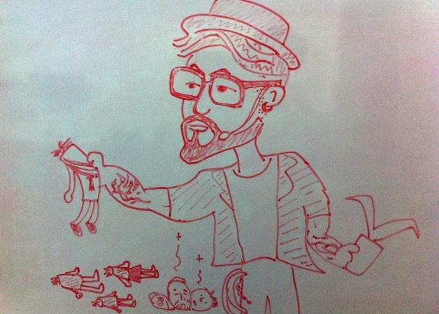Dibujo: Christian Buscaglia Solé
