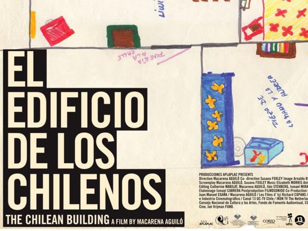 """Documental """"El edificio de los chilenos"""" en Estadio Nacional, 1 de marzo"""