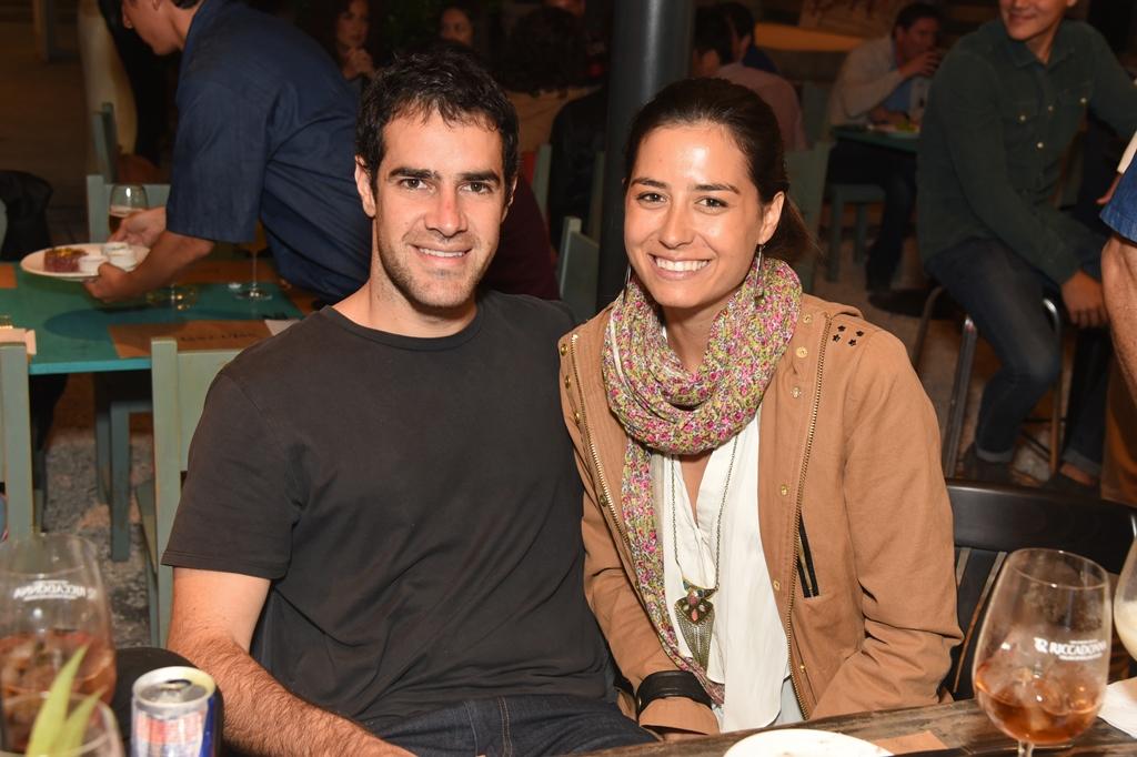 José Luis López y Denise García Huidobro.