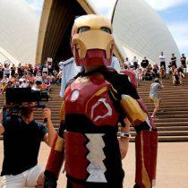 [Video] 'Iron Boy' salva a Sydney