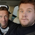 [Video] Mira a Chris Martin, vocalista de Coldplay, cantando karaoke en automóvil de James Corden