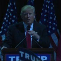 [Video] Le cortan la luz a Donald Trump durante discurso y lo convierte en show de improvisación