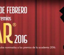 """""""La fiesta de los Oscar"""", del 17 al 28 de febrero"""