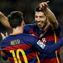 [Video] La asistencia de penal de Messi a Suárez en la goleada del Barcelona
