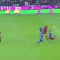 [Video] Bayern Munich de Arturo Vidal le gana al Darmstadt con golazo de chilena