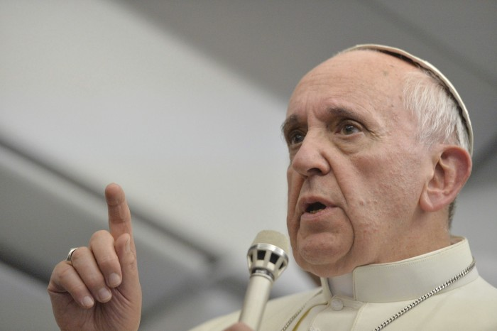 El papa anima a Trump a defender la dignidad y la libertad en todo el mundo