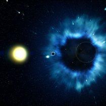 Japón lanza un satélite para observar agujeros negros