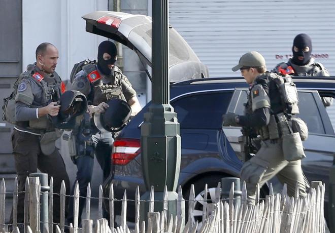 Tiroteo en Bruselas durante operación antiterrorista