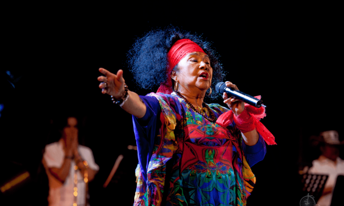 Concierto de Totó, La Momposina: Atronadora, mística, libre