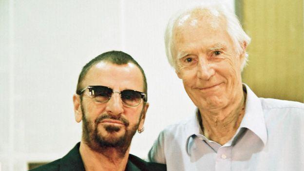 Ringo Starr, batería de los Beatles, fue el primero en anunciar la muerte de George Martin.