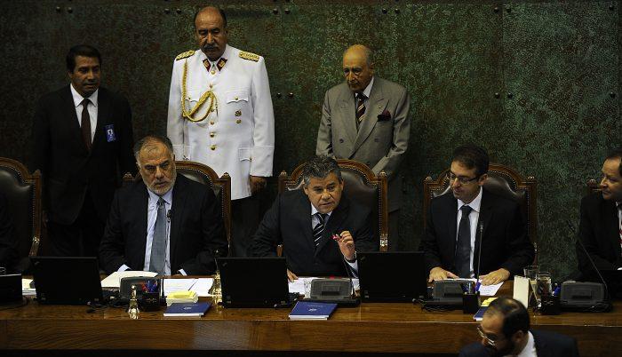 Cambio de Mesa de la Camara de Diputados 22 de Marzo 2016