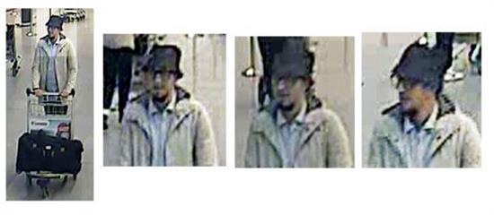 Se confirma la identidad del segundo terrorista suicida de Bruselas-Zaventem