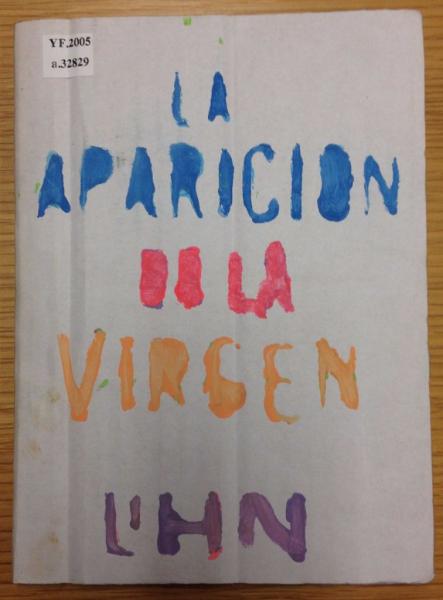 Un ejemplar de un libro de Enrique Lihn.