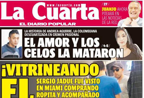 """Colegio de Periodistas condena titular de La Cuarta: """"Ese ..."""