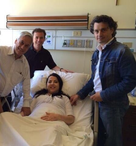 La foto íntima del fiscal que investiga el caso SQM con Piñera