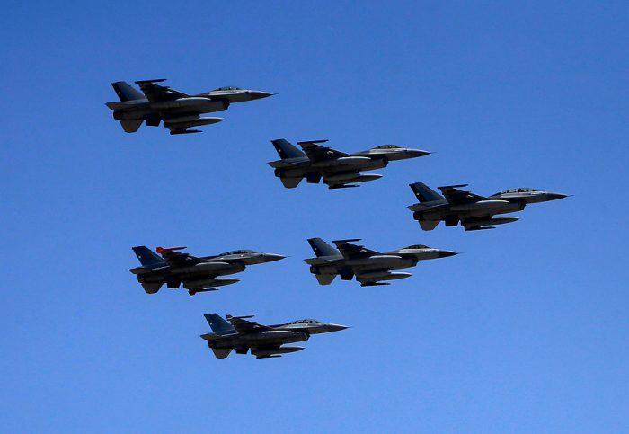 [FOTOS] Con desfile terrestre y aéreo la FACh celebró su 86 aniversario