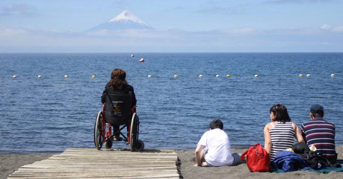 Turistas belgas en situación de discapacidad eligen a Chile como destino para realizar turismo aventura