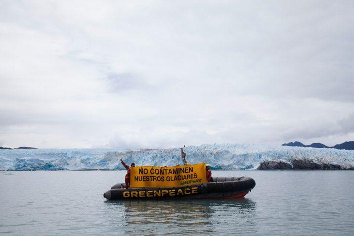 Greenpeace advierte que proyecto de ley de glaciares del gobierno deja desprotegidas a la mitad de las reservas de Chile