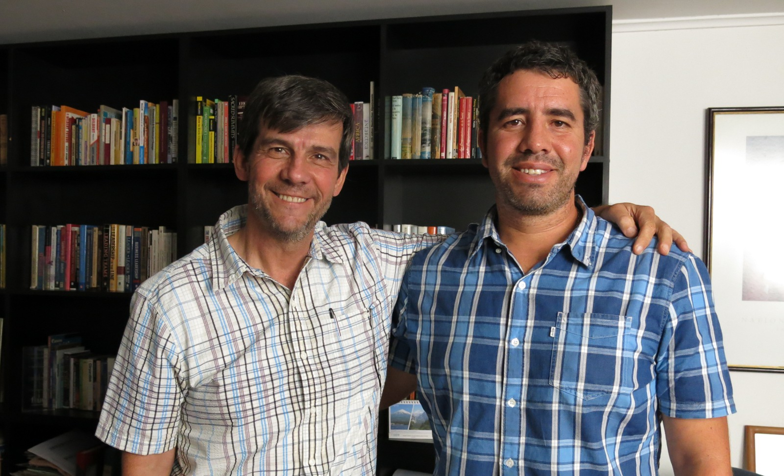 Rodrigo Jordán y Eugenio Guzmán