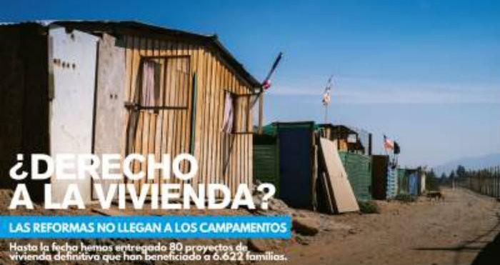 Campañas de un techo para chile