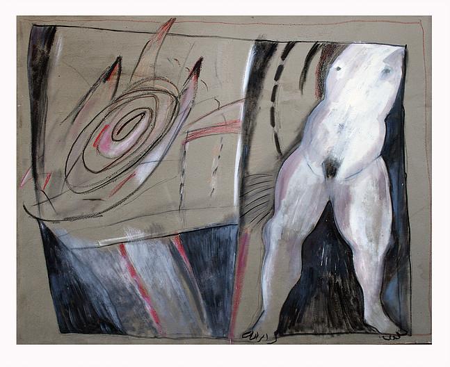 """Exposición """"De lo sacro a lo profano"""" de Juan Carlos Bustamante en Factoría de Arte Santa Rosa, desde el 19 de marzo"""
