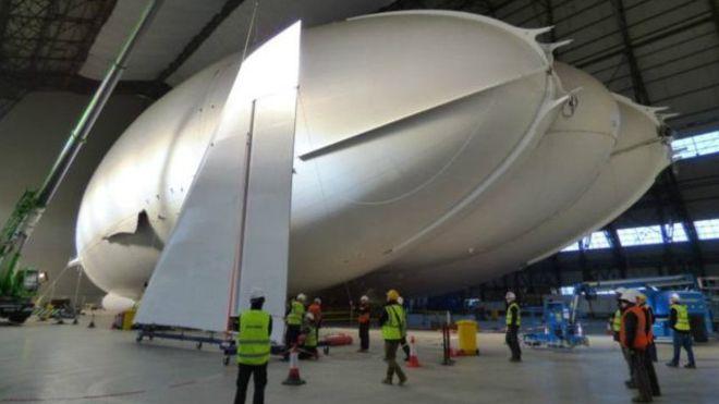 Airlander 10: el objeto volador más grande del mundo se prepara para despegar
