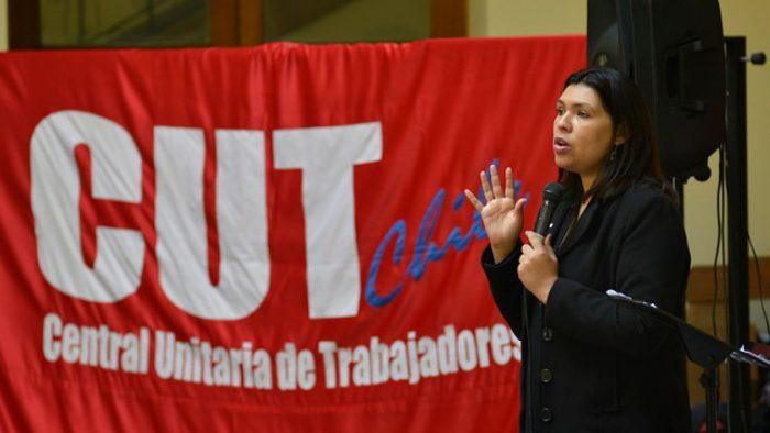 La CUT sale a la calle a manifestarse contra reforma laboral