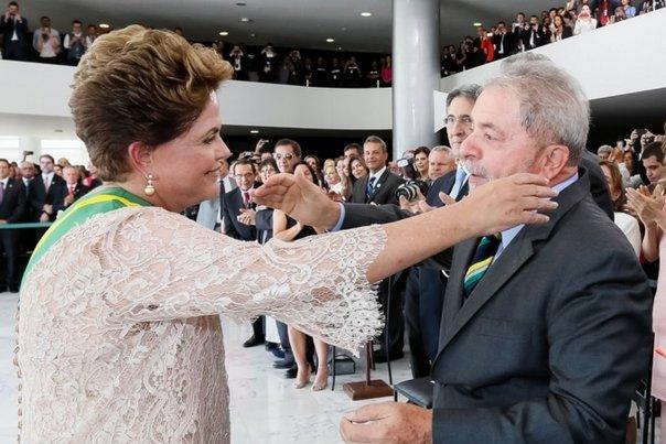 Policía Militarizada dispersa protestas contra Rousseff y Lula en Sao Paulo