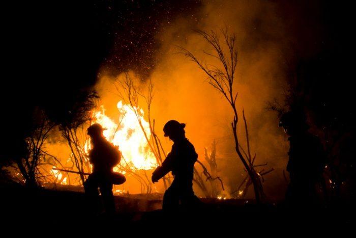 Onemi actualiza cifra de incendios forestales: todavía hay 43 siniestros activos