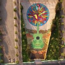 [Video] Árbol de Víctor: el mural gigante dedicado a Víctor Jara