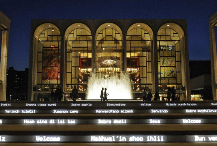 Metropolitan Opera House, una experiencia HD en el Nescafé de las Artes