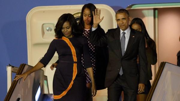 Obama llega a Argentina donde se reunirá con Macri para reactivar confianzas
